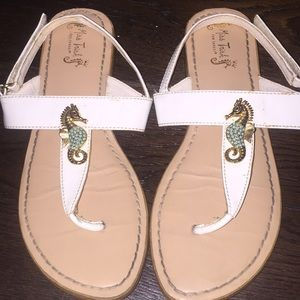Miss Trish for Target seahorse sandals shoes